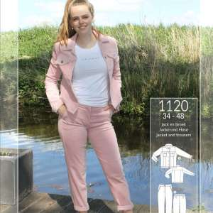 Pink- Washed Ribfluweel Corduroy