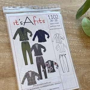 Blazer jasje en broek-it's a fits #1102