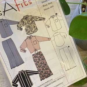 blouse en maxi rok – It's a fits #1114