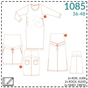 Zwangerschapskledij- It's a fits #1085