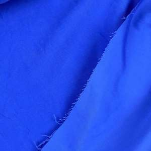Electric blue- Sandwashed viscose coupon 48cm