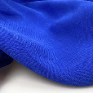 Electric blue- Sandwashed viscose COUPON 75cm