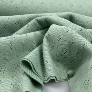 Fresh mint- Pointelle tricot