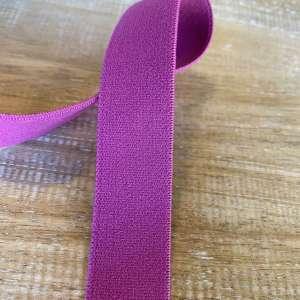 Fuschia- Zachte elastiek 2cm