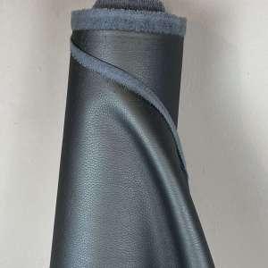 Grey blue kunstleder- tassenstof