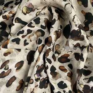 Natural leopard- tencel