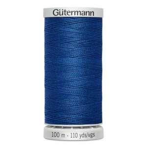 214 blauw- Gütermann Super sterk naaigaren 100m