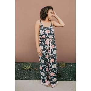 Night Garden Pajama set- Sew To Grow