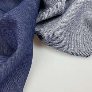 Dark Blue jeanslook- doubleface tricot