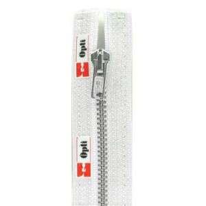 Deelbare metaalrits 18cm – wit 009