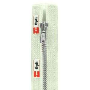 Deelbare metaalrits 25cm -wit 089
