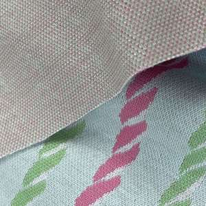 Candy Canes- jacquard tricot