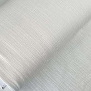 Soft White Linnen double gauze- tetra