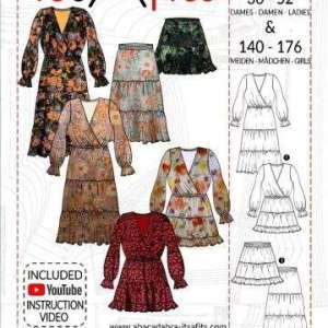 Boho rok en jurk- it's a fits #1122