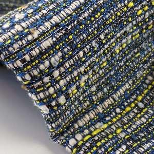 Ibiza yellow- tweed jacquard