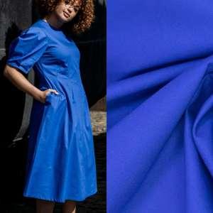 Rosa Electric blue – popeline katoen
