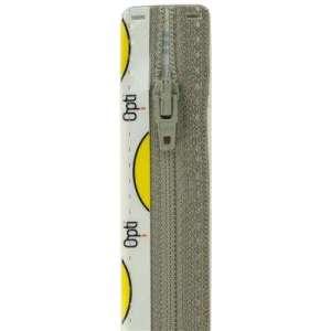 Broek rits 15cm grijs col 004