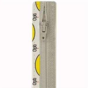 Broek rits 15cm licht grijs col 016