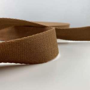 Tassenband bruin cognac 40 mm