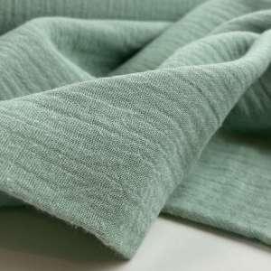 Lou subtle green – double gauze tetra