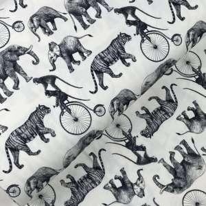 Monkey sees Monkey does – organisch katoen tricot