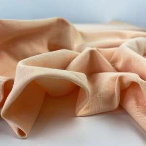 Peach- katoen tricot