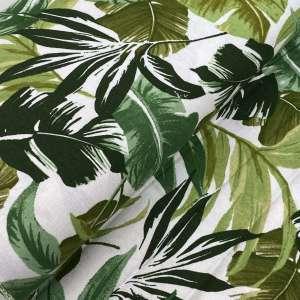 Tropical jungle-linnen viscose