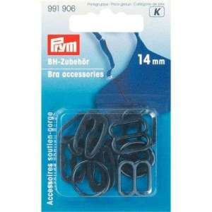 BH zwarte remmen, ringen en verstellers 14mm