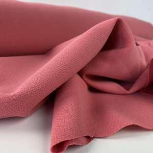Berry pink -Scuba crêpe TWILL COUPON 1m40
