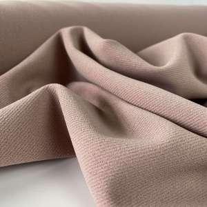 Dusty pink -Scuba crêpe TWILL