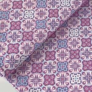 Pink Moroccon tiles- canvas