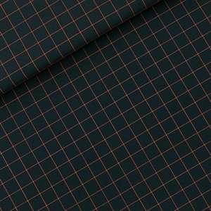 Thin grid- canvas gabardine