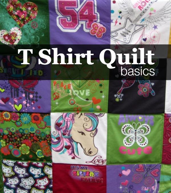 T Shirt Quilt Backing