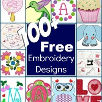 100+ Free Embroidery Designs
