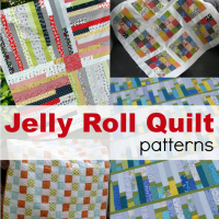 Jelly Roll Quilt Ideas