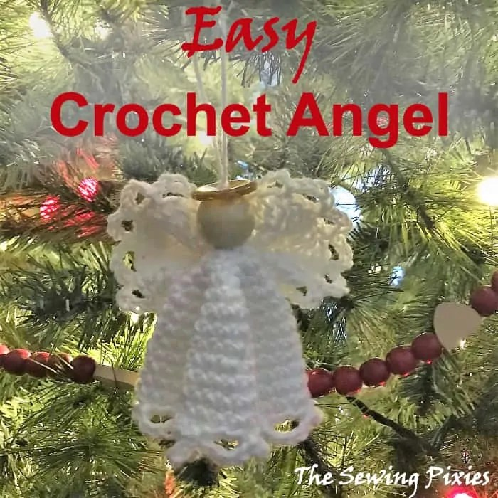 Easy Crochet Angel Ornament Free Pattern - The Sewing Pixies on recycling ideas for kitchen, design ideas for kitchen, halloween ideas for kitchen, christmas ideas for kitchen, painting ideas for kitchen, paint ideas for kitchen, decorating ideas for kitchen, computer ideas for kitchen, sewing curtains ideas, kitchen ideas for kitchen, patchwork ideas for kitchen, storage ideas for kitchen,