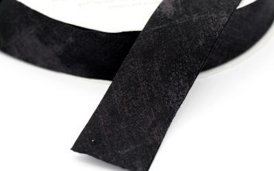 Moda Grunge Bias Black Dress
