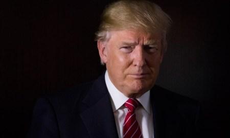 Donald Trump looking very presidential.