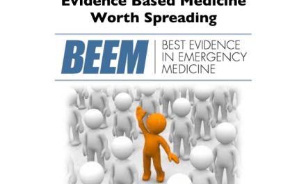 BEEM: Evidence Based Medicine Worth Spreading