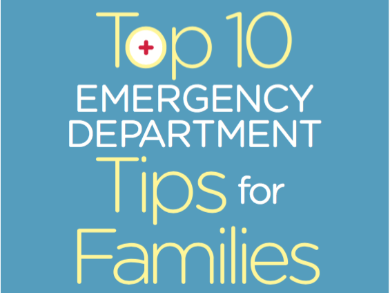 SGEM Xtra: Top 10 Emergency Department Tips for Families