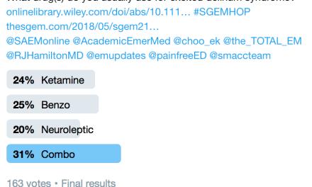 SGEM Twitter Poll #218
