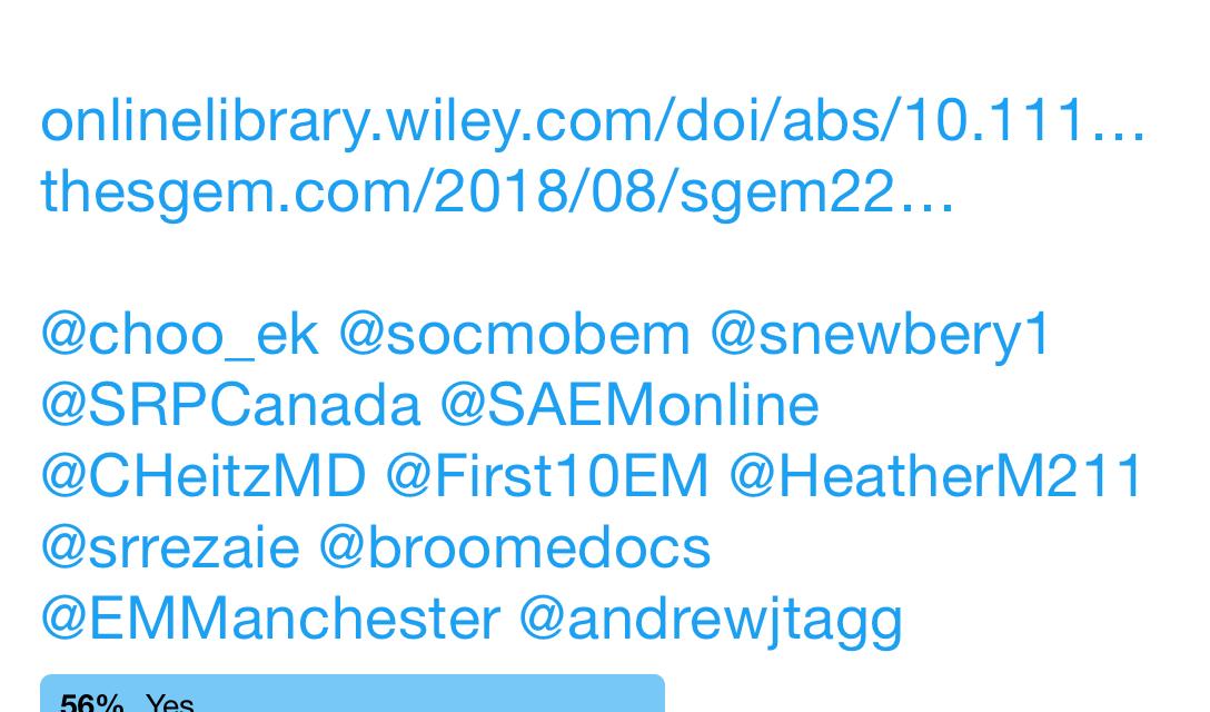 SGEM Twitter Poll #226