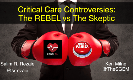 SGEM Xtra: The REBEL vs. The Skeptic – SMACC 2019