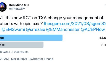 SGEM Twitter Poll #321