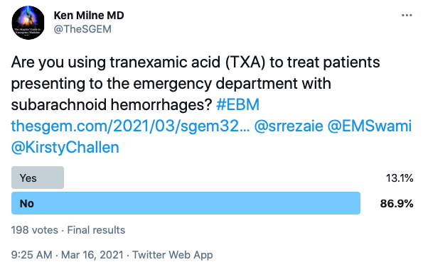 SGEM Twitter Poll #322