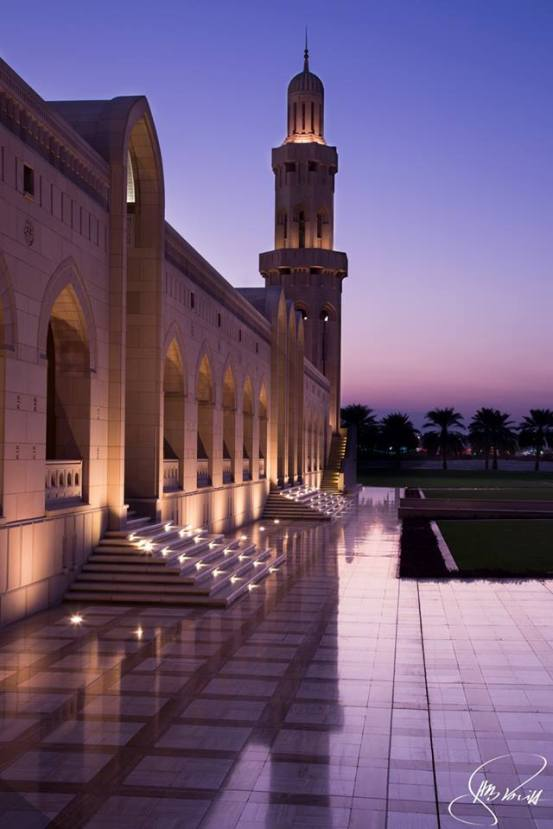 Sultan Qaboos Grand Mosque by Henz B Solih