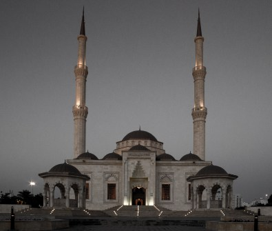 Taimour Mosque by Imran Zahid-The Shades Photography