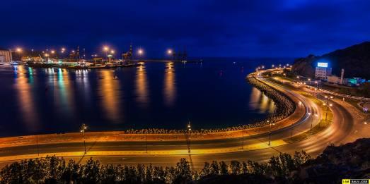 Mutrah Corniche by Baiju Jose