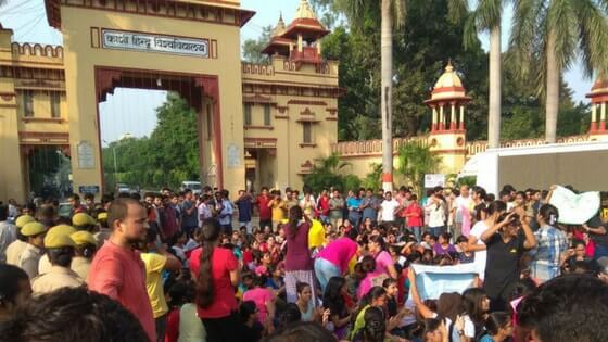 BHU unrest: Several injured including girls, CM seeks report