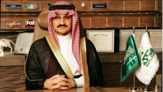Saudi Arabia arrests billionaire Alwaleed bin Talal and 10 other princes